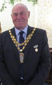 Mayor, Councillor Terry Duffy