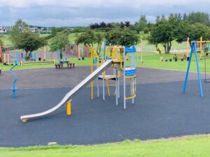 Junior play area at Woodhouse Park