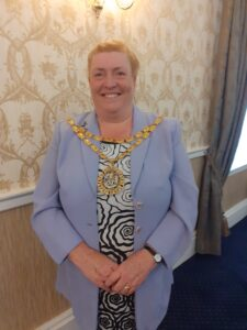photo of Councillor Mary Cartwright the Mayor of Peterlee